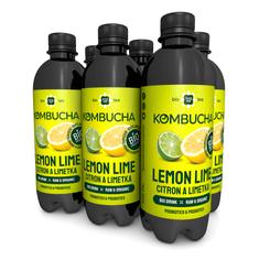 LONG LIFE BIOTEA Kombucha Citrón a Limetka 0,5l - 6ks