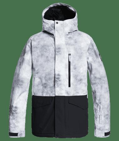 Quiksilver férfi kabát Mission Solid JK EQYTJ03268 XXL fekete/szürke