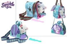 SELIS Sparkle Girlz maca u torbici, 35 x 23 cm