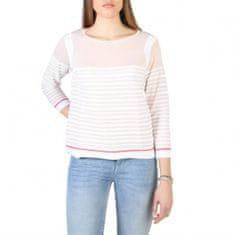 Armani Jeans dámský lehký růžový svetr - M