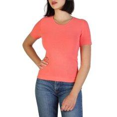 Armani Jeans Dámské růžové Armani Jeans tričko - 42