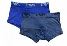 Emporio Armani Boxerky Emporio Armani 2 pack - modrá, šedé - S