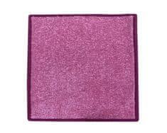 Betap Kusový koberec Eton 2019-11 růžový čtverec