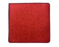 Betap Kusový koberec Eton 2019-15 červený čtverec