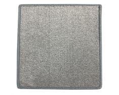 Betap Kusový koberec Eton 2019-73 šedý čtverec