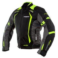 Cappa Racing Bunda motoAREZZO textilní černá/zelená
