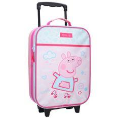 """Vadobag Detský cestovný kufor na kolieskach """"Peppa Pig"""" - ružová"""