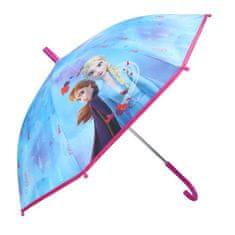 """Vadobag Mechanikus esernyő """"Jégvarázs 2 - Don't Worry About Rain"""" - kék"""