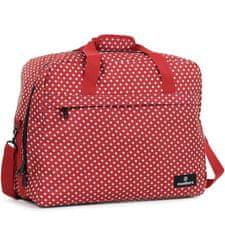 Member's Cestovní taška MEMBER'S SB-0036 - červená/bílá