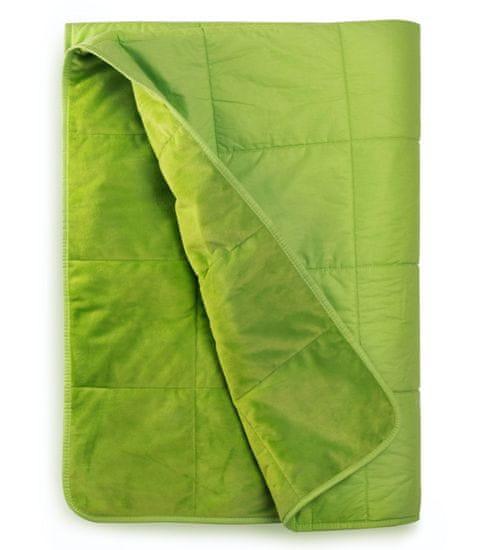 NiDū Detská záťažová prikrývka 2,5kg zelená