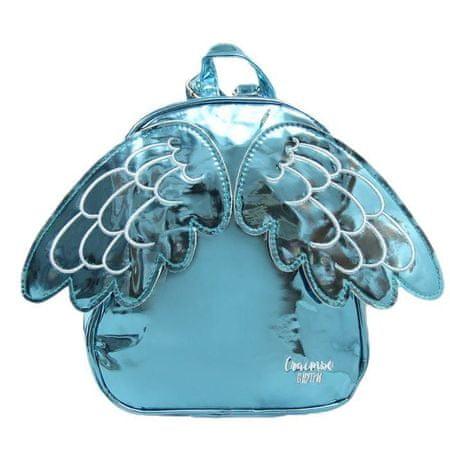 Kraftika Gyermek hátizsák, villám osztály, szárnyakkal, kék színű