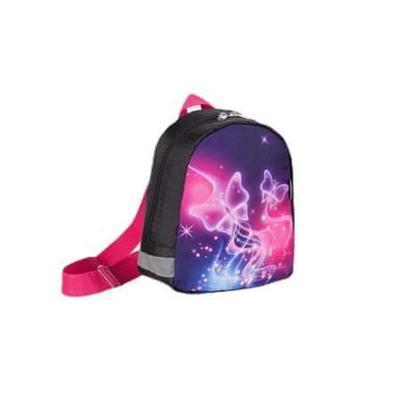 Kraftika Gyermek hátizsák, villám osztály, lila szín, 5254731