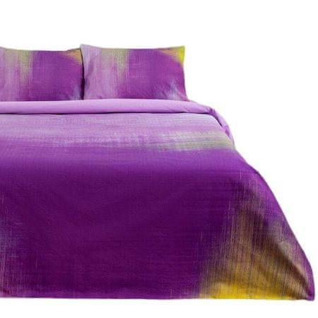 "Kraftika Pościel ""ethel"" 2 sp purple grade 175*215 cm, 200*220 cm"