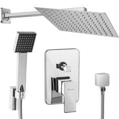 tectake Sprchový systém TROPICO - šedá