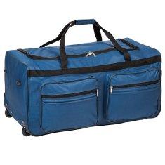 tectake Cestovní taška na kolečkách 160 litrů - modrá