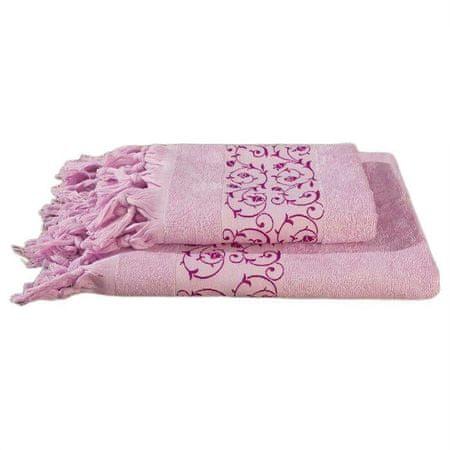 Kraftika Komplet ręczników frotte w pudełku fidan classik 50x90