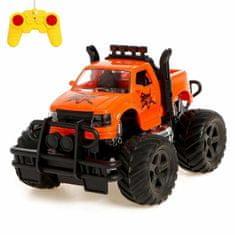 """Kraftika Dálkově ovládaný jeep """"pickup"""", napájený z baterie, mix"""