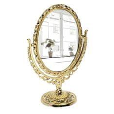 """Kraftika Stolní zrcadlo """"azhur"""", oboustranné, se zvětšením"""