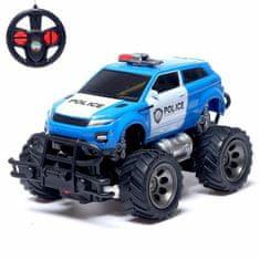 """Kraftika Jeep rádiem řízená """"policie"""", pracující z baterie, mix"""
