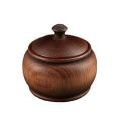 Kraftika Cukřenka z borovice, rozměr 7 x 7,7 cm, hnědá barva