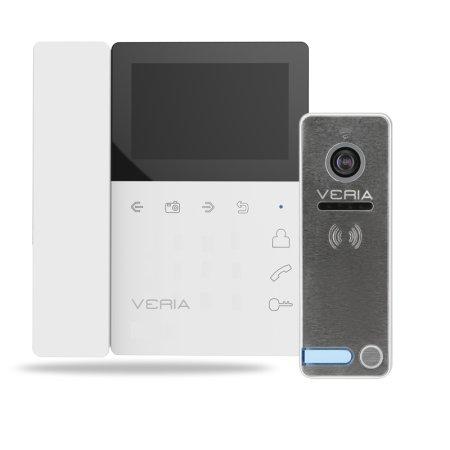 Veria ZESTAW Wideotelefon 7043B biały + 230
