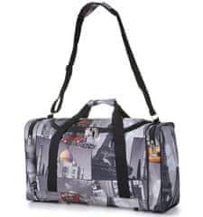 Cestovní taška CITIES 825 - šedá