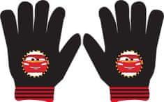 """Eplusm Chlapčenské prstové rukavice """"McQueen"""" - čierna"""