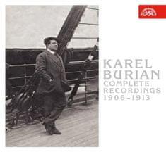 Burian Karel: Kompletní nahrávky 1906-1913 (3x CD) - CD