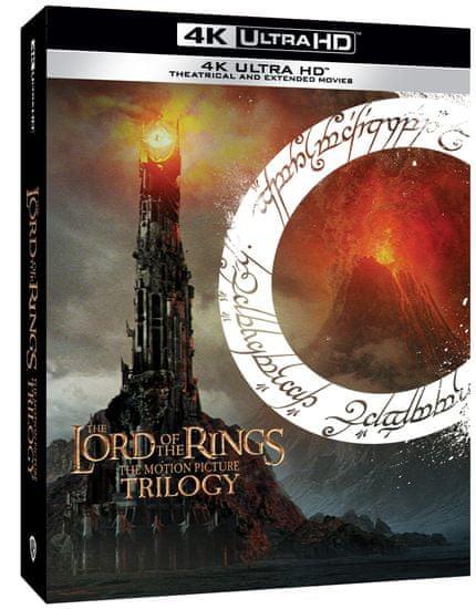 PÁN PRSTENŮ / LORD OF THE RINGS - Komplet trilogie - Prodloužená verze + kinoverze (6 UHD) - 4K Ultra HD