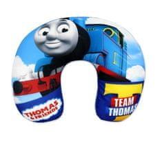 """SETINO Fiú utazópárna """"Thomas a gőzmozdony"""" - 28x34cm - kék"""