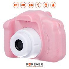 Forever SKC-100 dječji fotoaparat s kamerom, roza