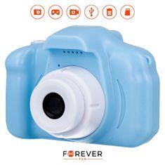 Forever SKC-100 dječji fotoaparat s kamerom, plavi