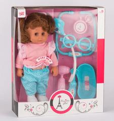 SELIS igračka lutka doktor sa zvukom, 30 cm