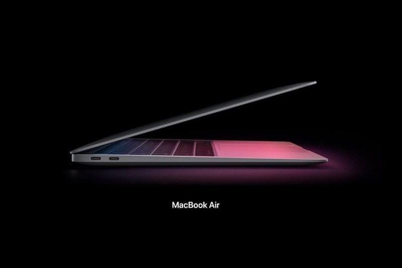 notebook Apple MacBook Air 13 M1 (Z1270003M)  větší výkon intel core touch bar profesionální