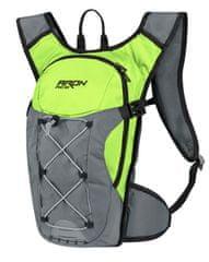 Force Cyklistický batoh ARON ACE - objem 10 litrů - fluo žlutá