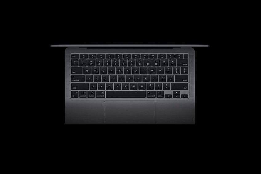 notebook Apple MacBook Air 13 M1 (Z1270003M) , klávesnice nůžkový systém Touch ID vícedotykový