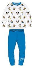 """Eplusm Chlapecké bavlněné pyžamo """"Mickey Mouse""""- modrá"""