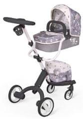 DeCuevas 81535 moderna kolica za lutke bebe 3 u 1