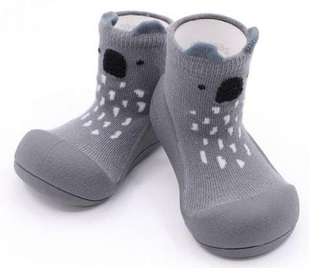 Attipas Koala Gray otroški čevlji, sivi, 21,5