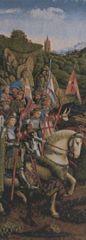 Metrax Craye Belgium Gobelín Tapisérie - Rytiera Kristova Jan Van Eyck
