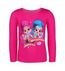 """SETINO Koszulka dziewczęca z długimi rękawami """"Shimmer i Shine"""" - różowy"""