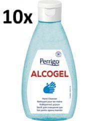 PERRIGO 10x ALCOGel Hand Cleanser 200ml - antibakteriálny gél na ruky