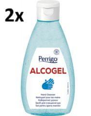 PERRIGO 2x ALCOGel Hand Cleanser 200ml - antibakteriálny gél na ruky