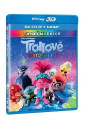 Trollové: Světové turné 3D+2D (2 disky) - Blu-ray