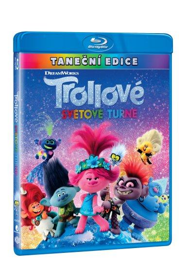 Trollové: Světové turné - Blu-ray