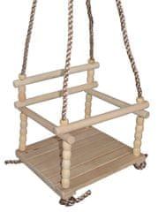Acra Dětská dřevěná houpačka HP1