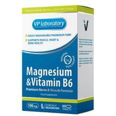 VPLAB magnezij + B6, 60 tableta