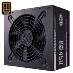 Cooler Master MWE 450 Bronze - V2 punjač, 450 W, 80 PLUS Bronze, ATX