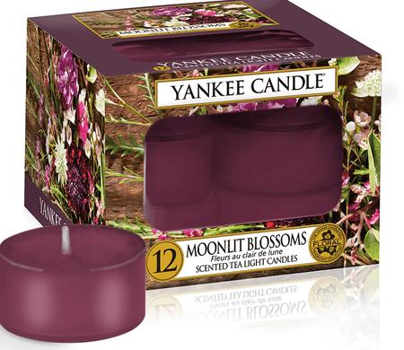 Yankee Candle Yankee gyertya MOONLIGHT BLOSSOMS tealights 12 db