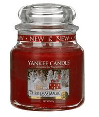 Yankee Candle Yankee gyertya KARÁCSONYI MAGIC Közepes gyertya 411 g